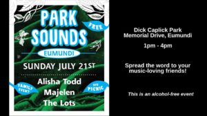 Park Sounds is on!